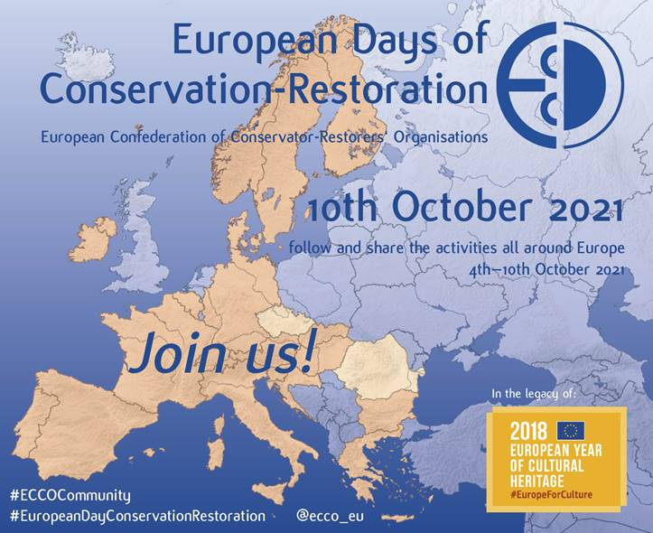 European Days of Conservation Restoration 2021